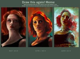 Draw this again! Meme ... AGAIN by charlotvanh