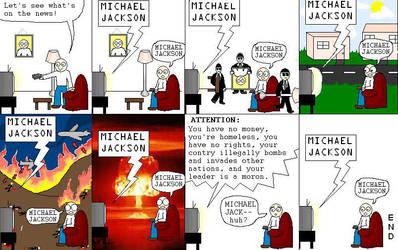 Michael Jackson by skippycartoons