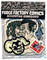 Sticker Robot x Fudge Factory by stickerobot