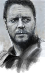 Russell Crowe from Gladiator by Booze528