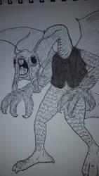 The Jabberwock by OddMod-7