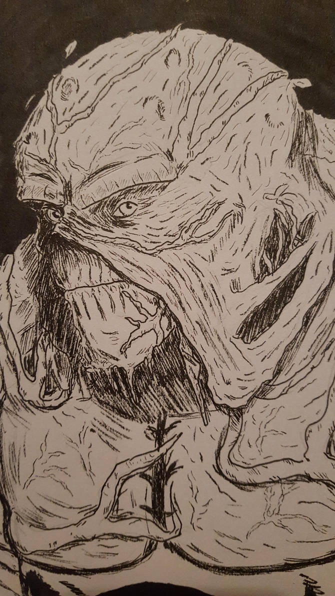 Swamp Thing by OddMod-7