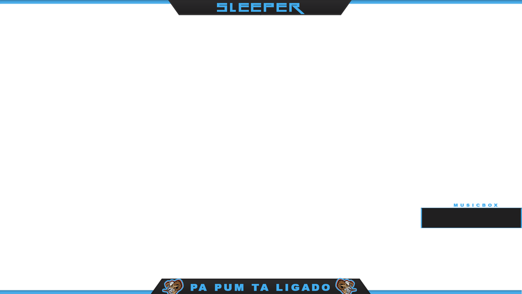 SIMPLE TWITCH OVERLAY FOR PLAYER Sleeper SMOKING5 by ...