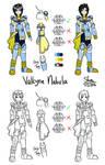 Art trade: Tartarus AU - Valkyrie Nebula by Shinryuu-Uroborus