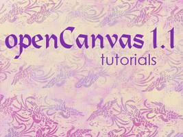 openCanvas 1.1 Tutorials Index by ArtistsHospital