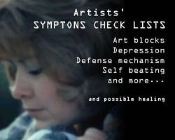 Symptoms Check List by ArtistsHospital
