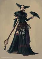 Crow Witch by IanPerks