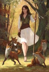 Shepherdess by IanPerks