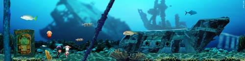 Under Sea Environment by Eyth