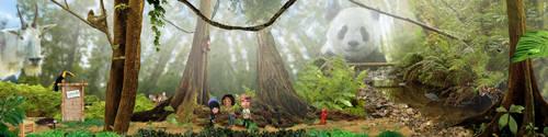 Rainforest Environment by Eyth