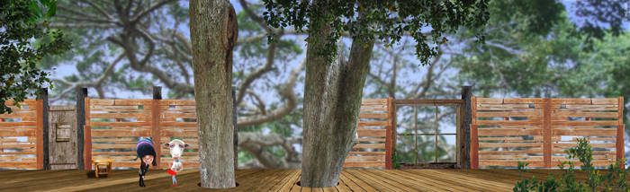 Treehouse Environment by Eyth