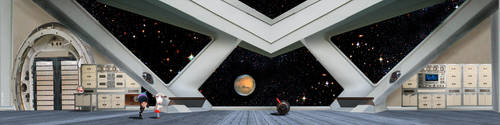 Space Ship Interior 2 by Eyth