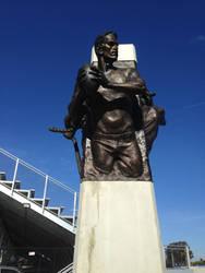 Sport Monument - Quarterback by Eyth