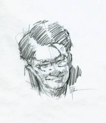 Head Study, 7-14b by Eyth