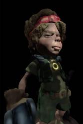 Warrior Kid 01 by Eyth