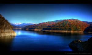 Vidraru Lake HDR by ScorpionEntity
