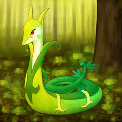 serperior again by Pyritie