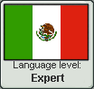 Mexico - Language Level Stamp - Expert by franktheladycow