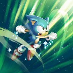 Sonic Warrior by 2dforever
