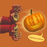 Super Hallowe'en Fighter 2 by 2dforever