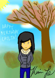 Birthday Drawing by KevinLOVESHam