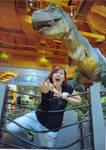 Toys R Us T-Rex by watatsu