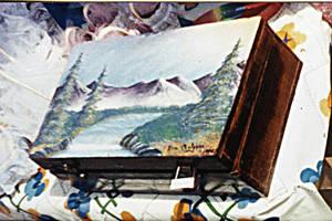 Box Painted 1994? by DarkRubyMoon
