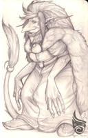 Old troll lady by Mosstroll
