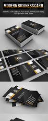 Modern Business Card by r-dowaik