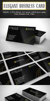 ELEGANT BUSINESS CARD by r-dowaik