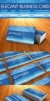 Modern Elegant Business Card by r-dowaik