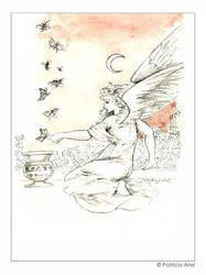 An Angel by darkbanshee