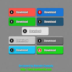 Download Buttons For Web by designerweb
