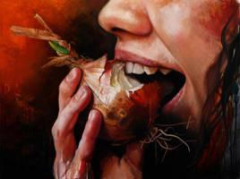 Smagsloeget (tastebud) by LukasDamgaard