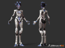 SpaceGal_Final1 by Ikameka