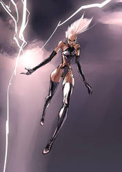 Storm from X-Men by celor