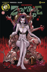 Zombie Tramp #49 cover by celor