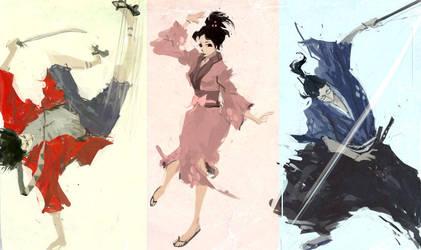 Samurai Champloo by celor