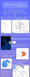 [SAI...tutorial ? ] How I colour Things by uchuubranko