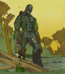 Sketch: Swamp Thing by Armadox