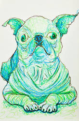 InkTober 2016 Day 27 - Creepy by Owl-On-Tree