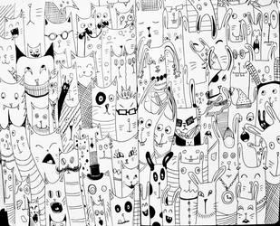 InkTober 2016 Days 29+30 by Owl-On-Tree