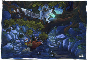 Gathering little Ravine by Sakamerel