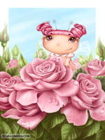Rose fairy by LiaSelina