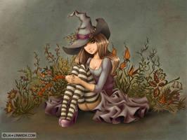 Witch Elda by LiaSelina