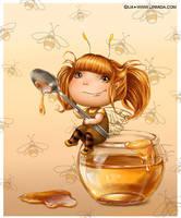 Honey fairy by LiaSelina