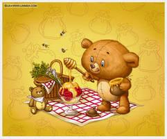 Bear Cub Icecream by LiaSelina