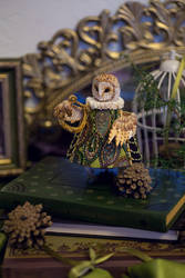 Barn owl by LiaSelina