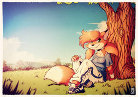 Patty Foxy by FOXnROLL