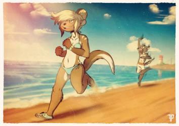 [COMM] Beach run by FOXnROLL